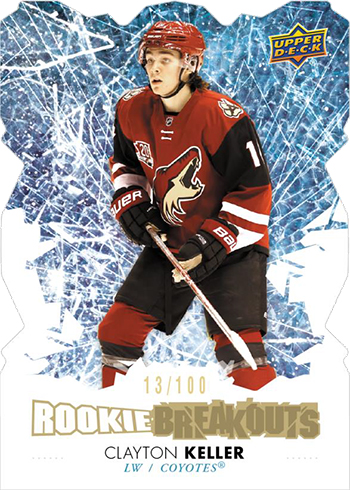 2017-18 Upper Deck Series 2 Hockey Rookie Breakouts