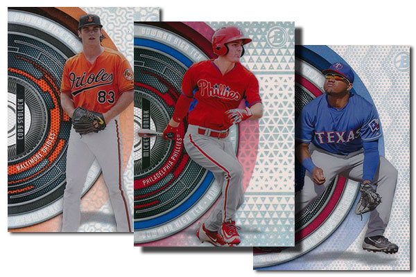 2017 Bowman High Tek Baseball Pattern Variations