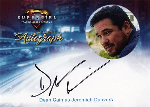 2017 Cryptozoic Supergirl Season 1 Dean Cain Autograph