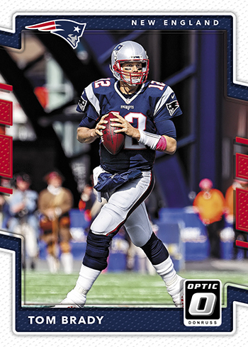 2017 Donruss Optic Football Tom Brady
