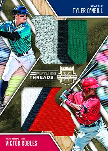 2017 Panini Elite Extra Edition Baseball Future Threads Duals