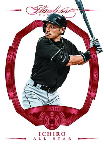 2017 Panini Flawless Baseball Ichiro Ruby