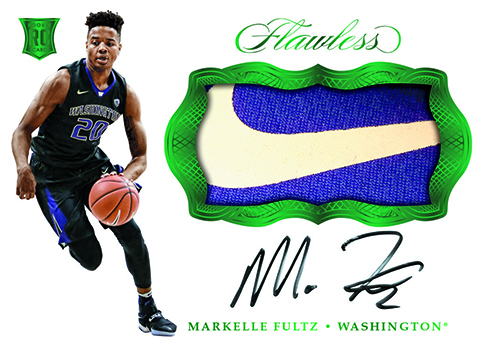 2017 Panini Flawless Collegiate Basketball Rookie Patch Autographs Emerald