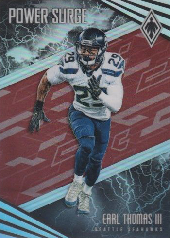 2017 Panini Phoenix Football Power Surge Red Earl Thomas