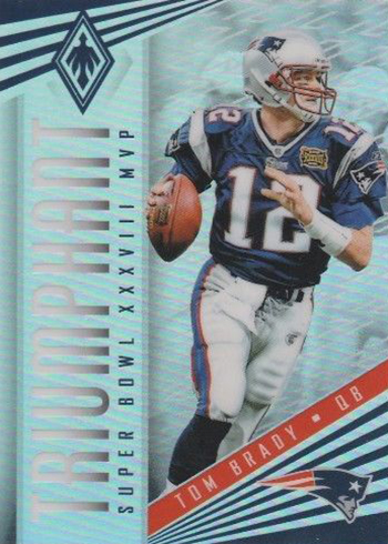 2017 Panini Phoenix Football Triumphant Tom Brady