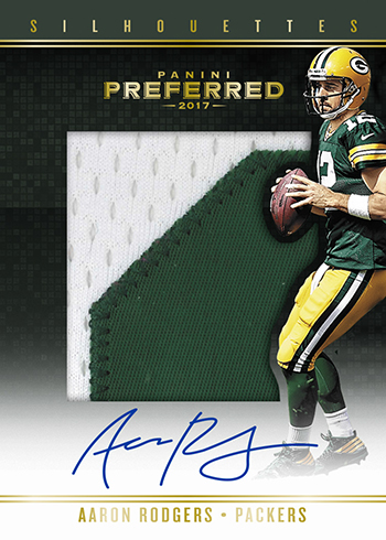 2017 Panini Preferred Football Silhouettes