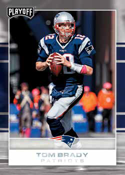 2017 Playoff Football Tom Brady