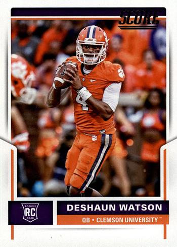 2017 Score Deshaun Watson Rookie Card