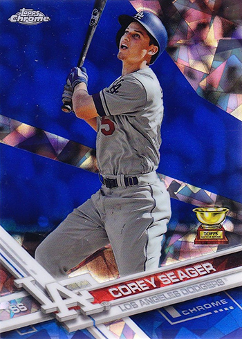 2017 Topps Chrome Sapphire Baseball Corey Seager