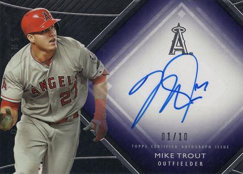 2017 Topps Diamond Icons Baseball Diamond Autographs Purple