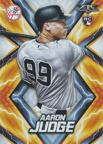 2017 Topps Fire Aaron Judge RC
