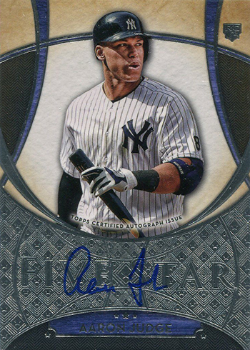 2017 Topps Five Star Baseball Base Autographs Aaron Judge