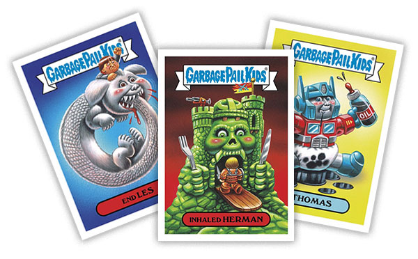 2017 Topps Garbage Pail Kids Fall Comic Convention Set