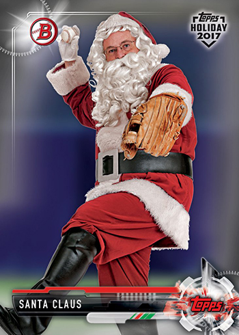 2017 Topps Holiday Santa Claus