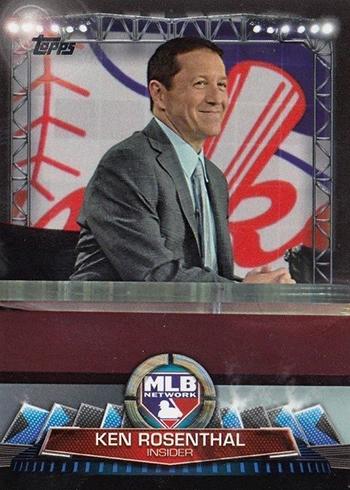 2017 Topps Update Series Baseball MLB Network Ken Rosenthal