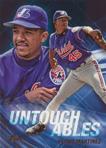 2017 Topps Update Series Baseball Untouchables Pedro Martinez