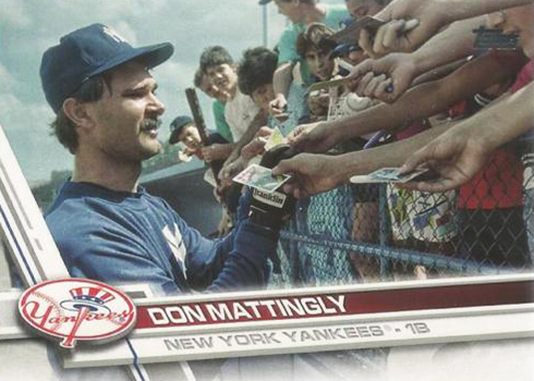2017 Topps Update Series Variations Don Mattingly