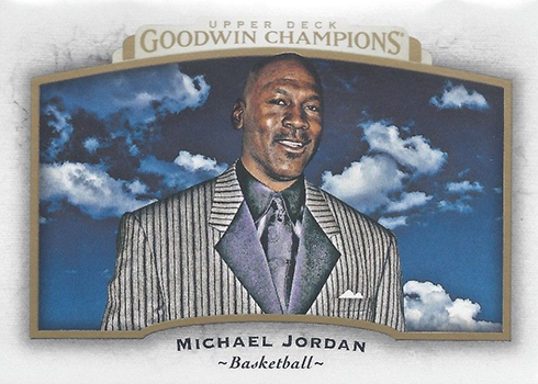 2017 Upper Deck Goodwin Champions Base Horizontal Michael Jordan