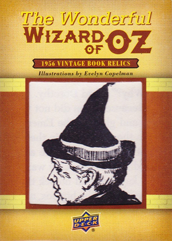 2017 Upper Deck Goodwin Champions Wonderful Wizard of Oz Book Relics