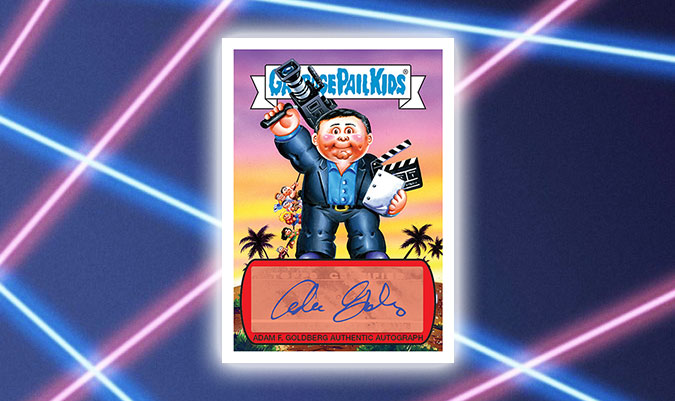 2018 Garbage Pail Kids The Goldbergs Autographs Adam Goldberg