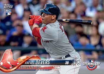 2018 Topps Opening Day Baseball Rafael Devers