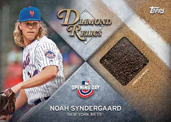 2018 Topps Opening Day Baseball Diamond Relics