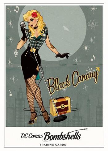 2017 Cryptozoic DC Comics Bombshells Characters Black Canary