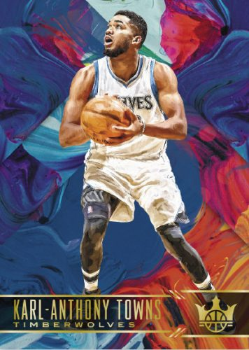 2017-18 Panini Court Kings Basketball Karl-Anthony Towns