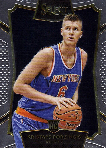 2015-16 Select Kristaps Porzingis Rookie Card