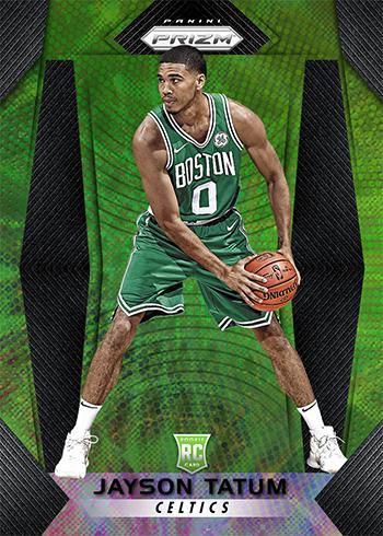 2017-18 Panini Prizm Basketball Fast Break Green Jayson Tatum