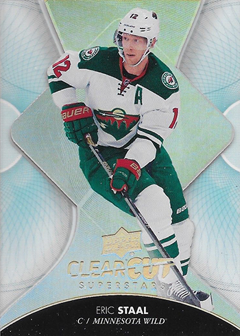 2017-18 Upper Deck Series 1 Hockey Clear Cut Superstars Eric Staal