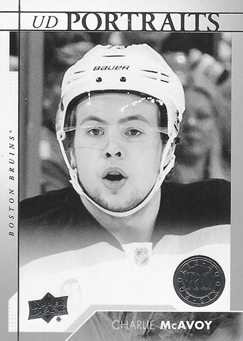 2017-18 Upper Deck Series 1 Hockey Portraits Charlie McAvoy