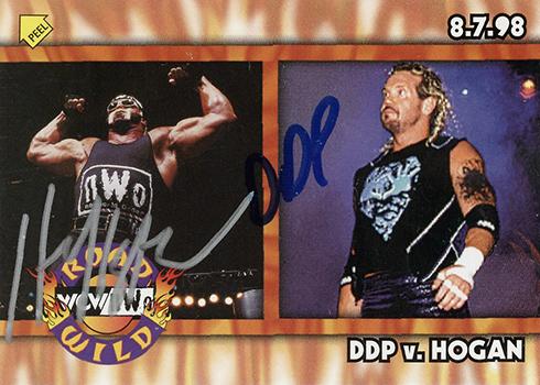 2017 Leaf Buyback Wrestling Hulk Hogan DDP Autographs