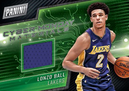 2017 Panini Cyber Monday Lonzo Ball Memorabilia Card