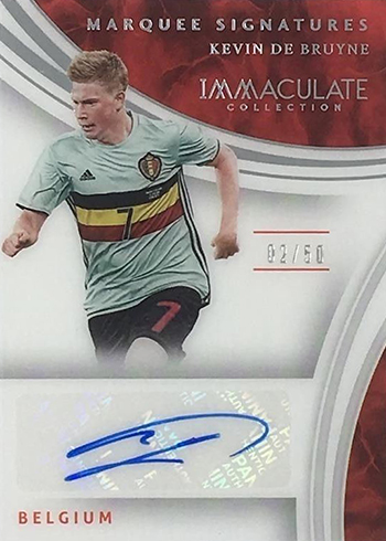 2017 Panini Immaculate Soccer Marquee Signatures