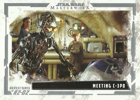 2017 Topps Star Wars Masterwork Adventures of R2-D2