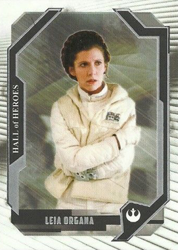 2017 Topps Star Wars Masterwork Hall of Heroes Leia Organa
