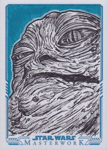 2017 Topps Star Wars Masterwork Sketch Card