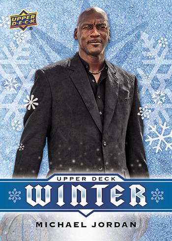 2017 Upper Deck Winter Michael Jordan