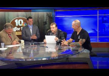 Steve Grad on NBC 10 Coffee Break - Rhode Island Comic Con