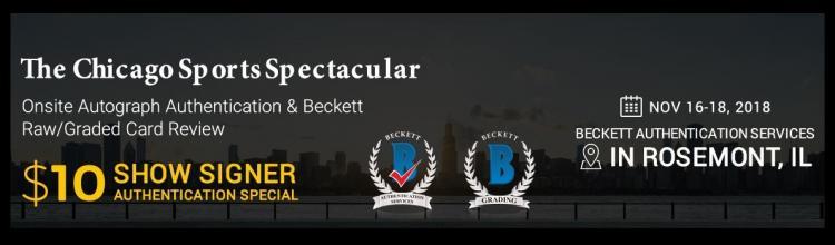 Sports Non Sports Autographs Memorabilia Authenticator Beckett