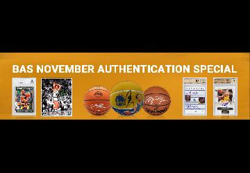 Autograph Authentication Offer - 1/2 off Basketball Signer Fees