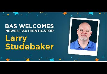 Larry Studebaker joins the Beckett Authentication Services Team of Authenticators