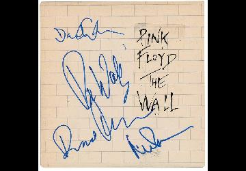 Pink Floyd autographed album hits high number at auction