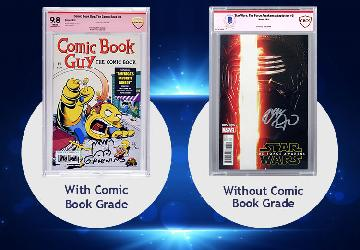 Authentication for Signed Comics - A Partnership Between CBCS Comics and Beckett Authentication Services