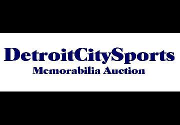 Detroit City Sports Vintage Sports Memorabilia Auction Now Live Online