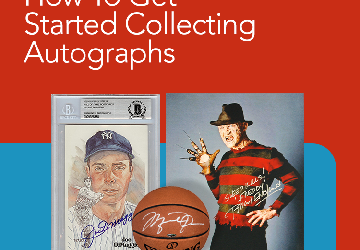 Getting Started in Collecting Autographed Memorabilia
