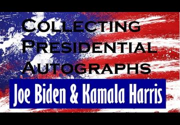Value of Joe Biden and Kamala Harris Autographs