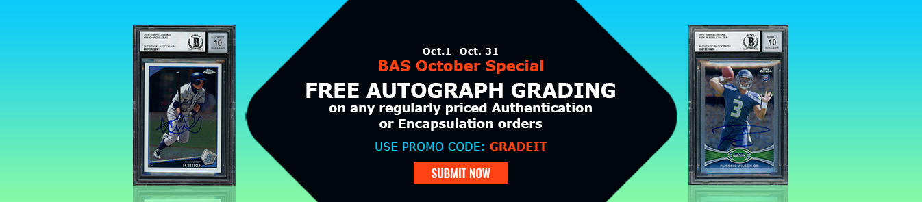 BAS Monthly Special October