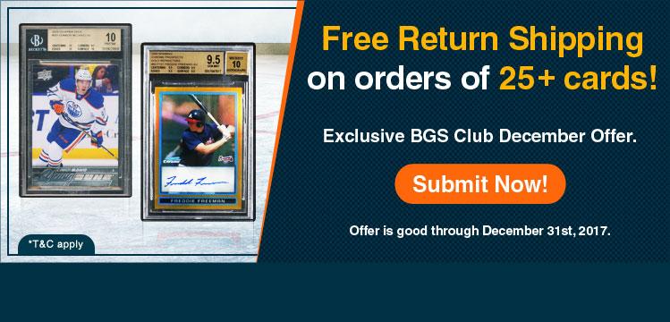 BGS Club December Offer